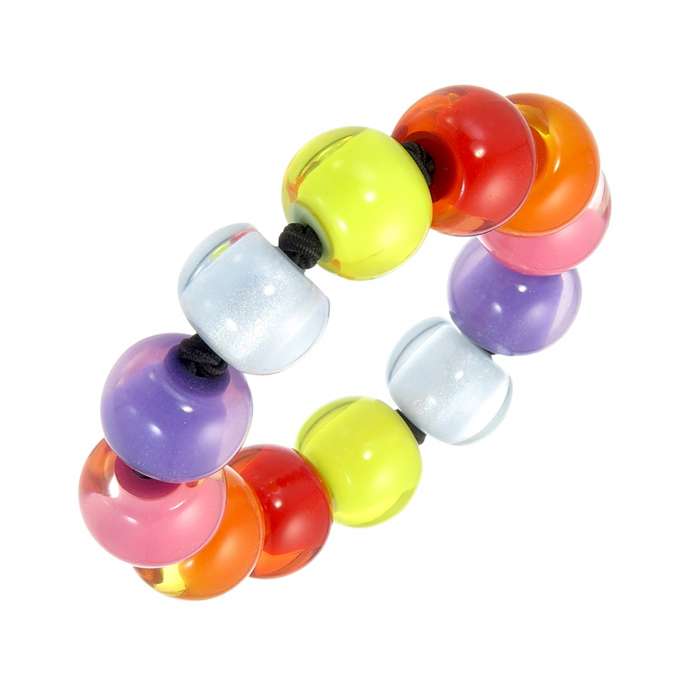 COLOURFUL BEADS by Zsiska, Armband, bunt
